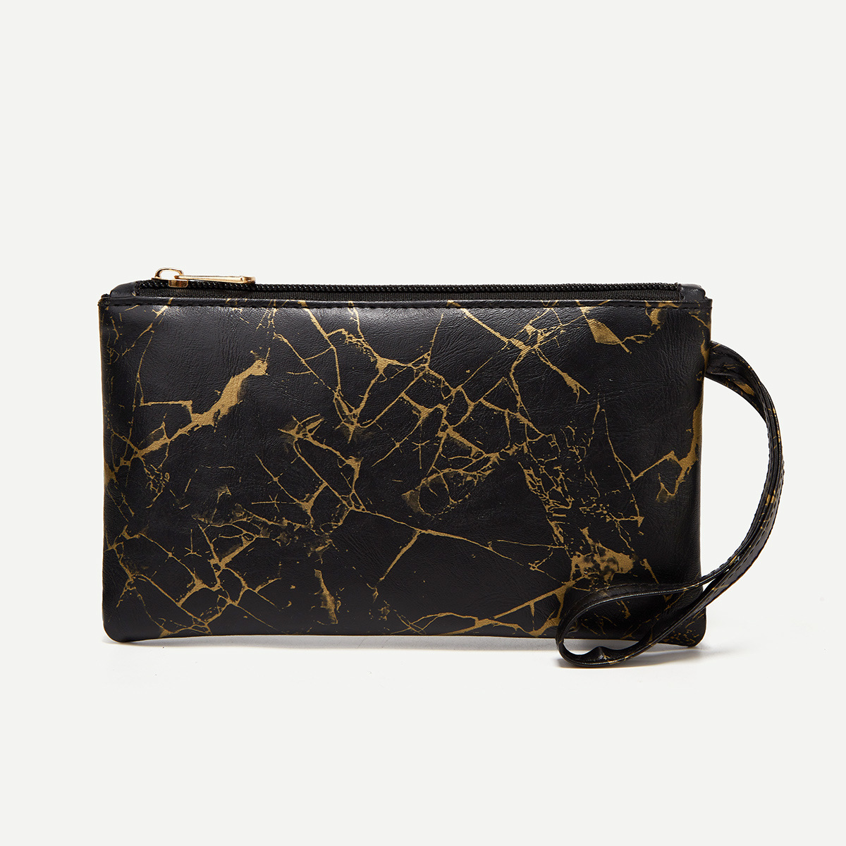 Lovely Casual Gradient Black Purse